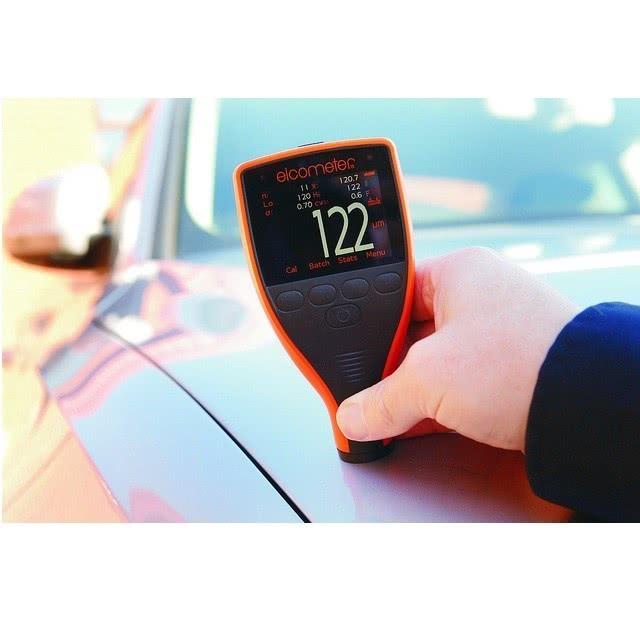 Pomiar grubości lakieru samochodowego Elcometer
