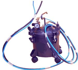 Zbiornik ciśnieniowy 10 l z mieszadłem