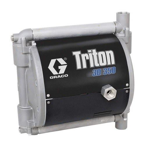 Pompa membranowa Graco Triton 3D 350