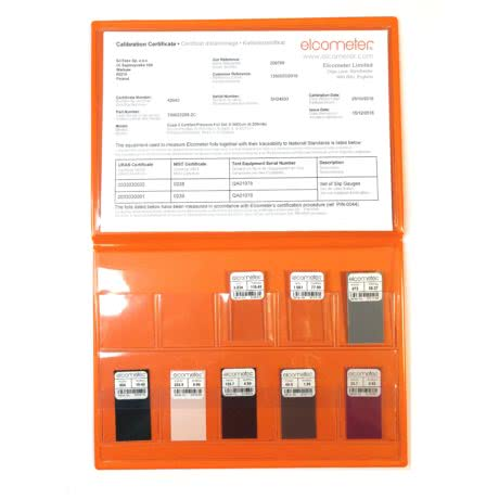 pakiet folii kalibracyjnych Elcometer