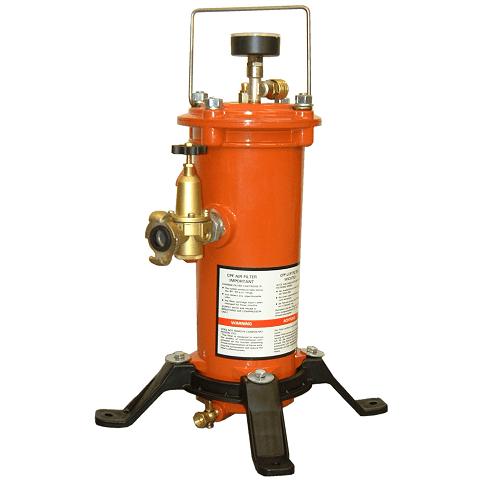 Zestaw filtracyjny powietrza oddechowego CLEMCO CPF-20