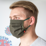 Maska ochronna bawełniana RESIN moro